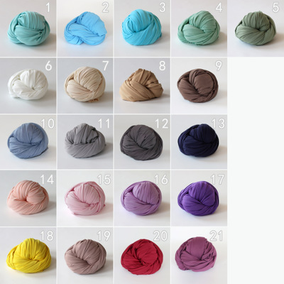 Cotton Elastic Yarn-wrapped Photographic Props For Newborn Babies In Children's Photography Studio